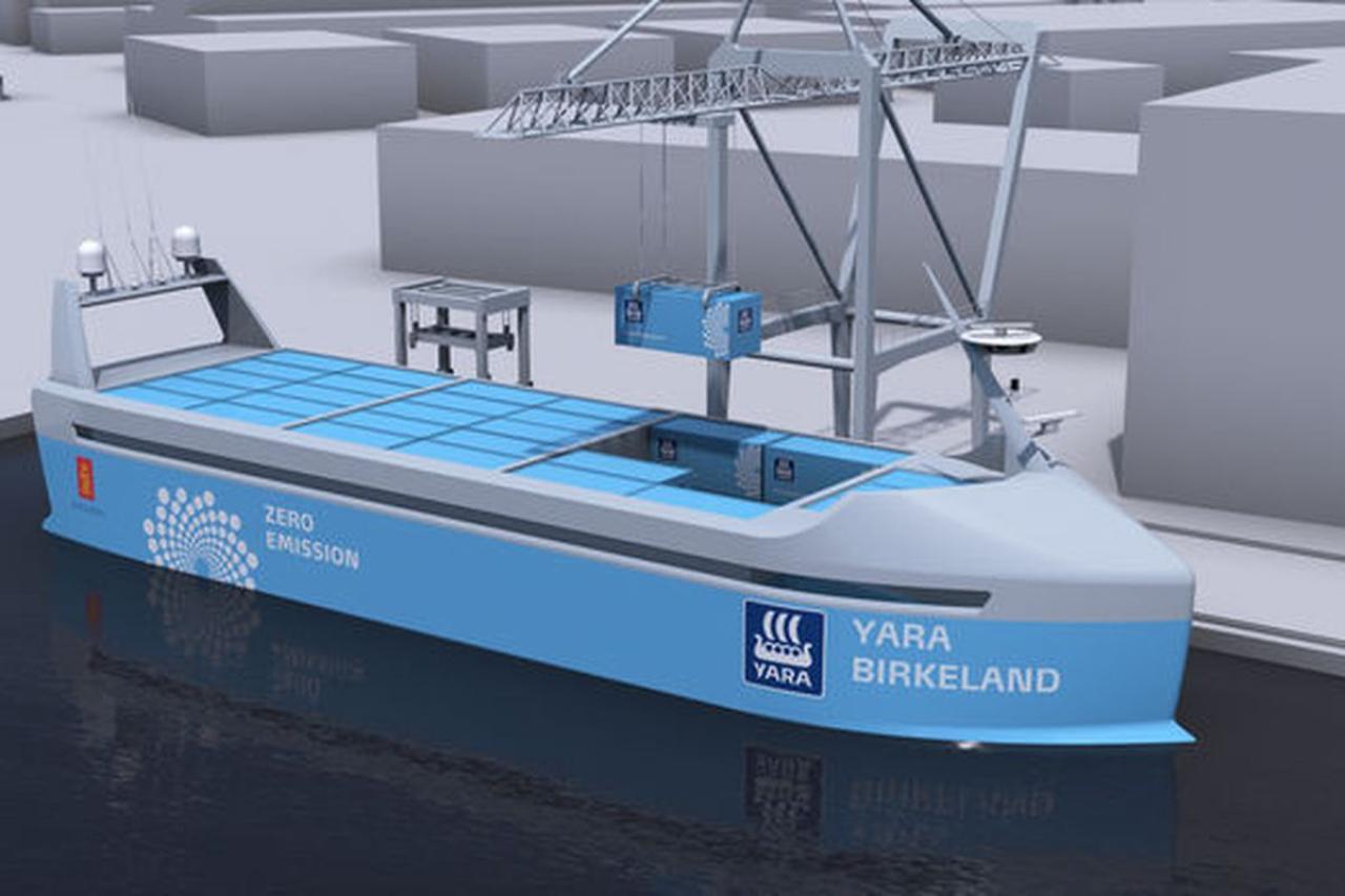Wilhelmsen And Kongsberg Establish World's First Autonomous